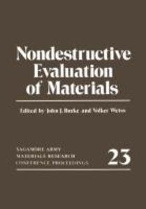 Nondestructive Evaluation of Materials