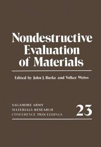 Nondestructive Evaluation of Materials