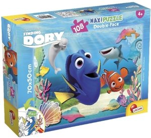 Finding Dory (Kinderpuzzle), Maxi-Puzzle Double-Face 108