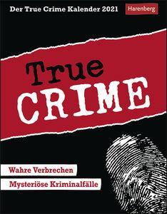 Der True Crime Kalender Kalender 2021
