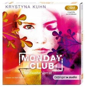 Monday Club 02. Der zweite Verrat (2 mp3 CD)