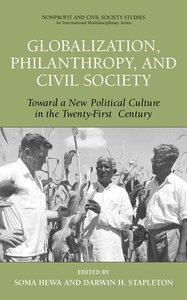 Globalization, Philanthropy, and Civil Society