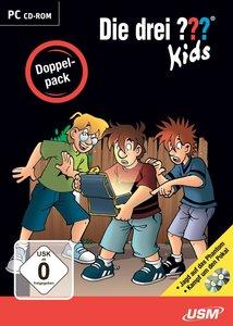 Die drei ??? Kids Doppelpack, 2 CD-ROMs