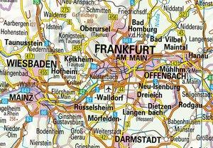 Übersichtskarte Deutschland 1 : 750 000