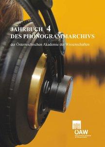 Jahrbuch des Phonogrammarchivs der Österreichischen Akademie de