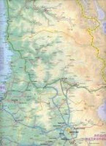 Santiago de Chile 1 : 12 500 / Central Cile 1 : 720 000