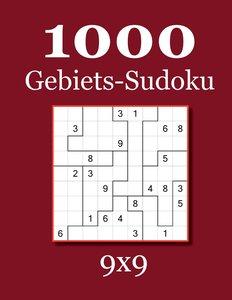 1000 Gebiets-Sudoku 9x9