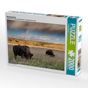 Roaming Free 2000 Teile Puzzle quer