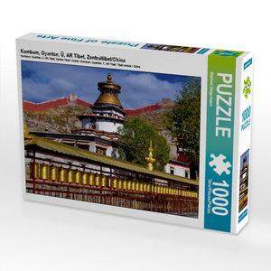 Kumbum, Gyantse, Ü, AR Tibet, Zentraltibet/China 1000 Teile Puzz