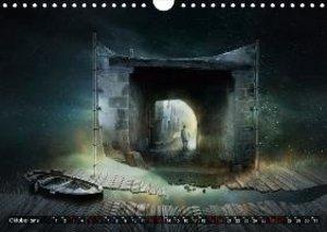 Auf neuen Wegen im Reich der Fantasie (Wandkalender 2019 DIN A4