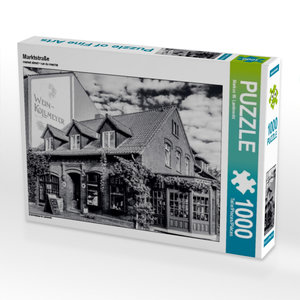 Marktstraße 1000 Teile Puzzle quer
