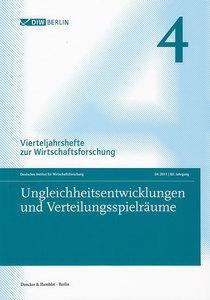 Ungleichheitsentwicklungen und Verteilungsspielräume.