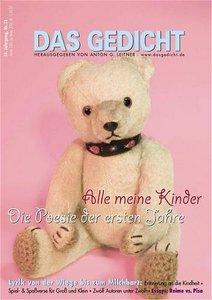 Das Gedicht Nr. 13. Zeitschrift /Jahrbuch für Lyrik, Essay und K