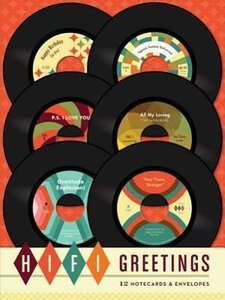 Hi-Fi Greetings Notecards
