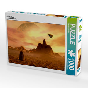 Silent Dune 1000 Teile Puzzle quer