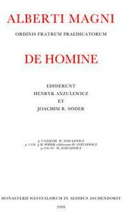 Opera Omnia / De homine