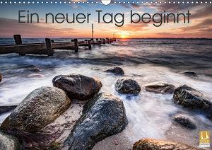 Ein neuer Tag beginnt (Wandkalender 2019 DIN A3 quer)