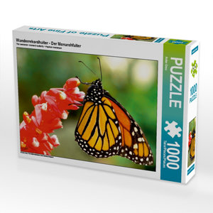 Wanderrekordhalter - Der Monarchfalter 1000 Teile Puzzle quer