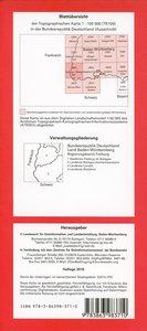 Freiburg im Breisgau Süd 1 : 100 000