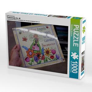 Ein Motiv aus dem Kalender Testkalender Nr. 45 1000 Teile Puzzle