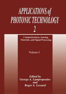 Applications of Photonic Technology 2