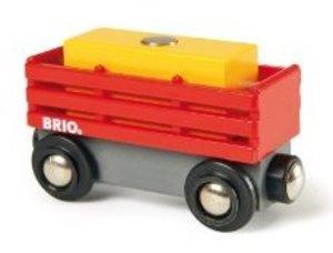Brio 33565 - Heuwagen mit Heuballen