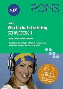 PONS mobil. Wortschatztraining Schwedisch. 1 MP3-CD
