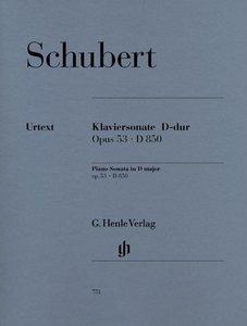 Klaviersonate D-dur op. 53 D 850