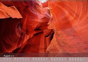Der Antelope Canyon (Wandkalender 2019 DIN A2 quer)