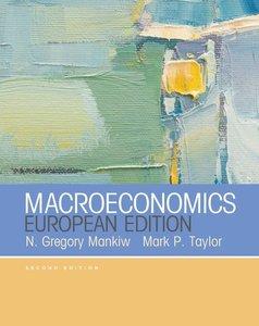 Macroeconomics (European Edition)