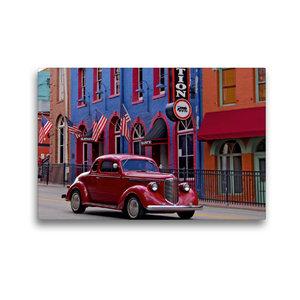 Premium Textil-Leinwand 45 cm x 30 cm quer Central City