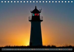Leuchttürme - maritime Wegweiser in Deutschland (Tischkalender 2