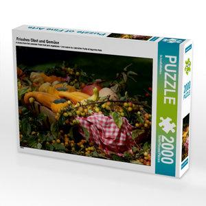 Frisches Obst und Gemüse 2000 Teile Puzzle quer