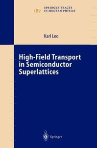 High-Field Transport in Semiconductor Superlattices