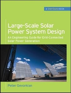 Large-Scale Solar Power System Design (GreenSource)