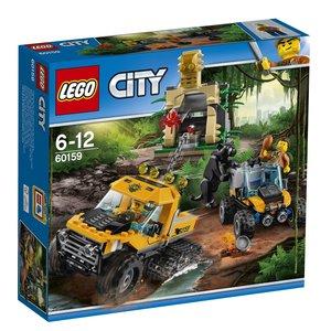 LEGO® City 60159 - Mission mit dem Dschungel-Halbkettenfahr