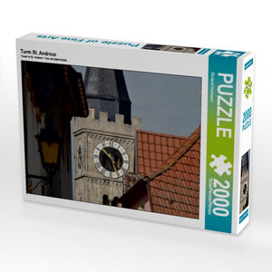 Turm St. Andreas 2000 Teile Puzzle quer