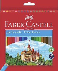 Buntstift Castle mit Spitzer 48er