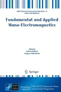 Fundamental and Applied Nano-Electromagnetics