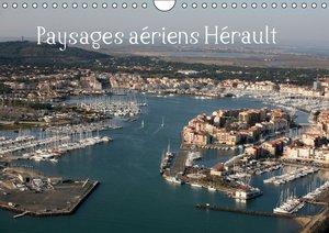 Paysages aériens Hérault (Calendrier mural 2015 DIN A4 horizonta