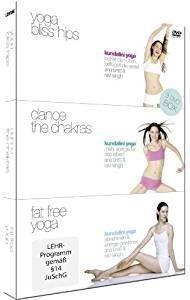 Kundalini Yoga Box - (Yoga Bliss Hips, Dance the Chakras, Fat Fr