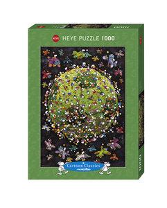 Cartoon Puzzle Football 1000 Teile