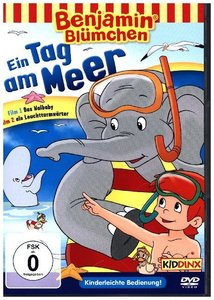 Benjamin Blümchen - Ein Tag am Meer, 1 DVD