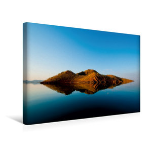 Premium Textil-Leinwand 45 cm x 30 cm quer Lake Argyle