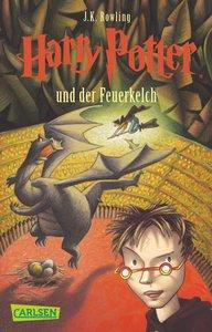 Harry Potter 4 und der Feuerkelch. Taschenbuch