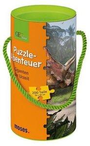 Geolino Puzzle-Abenteuer (Kinderpuzzle), Giganten der Urzeit