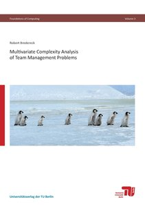 Multivariate Complexity Analysis of Team Management Problems