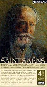 Werke von Camille Saint-Saens, 4 Audio-CDs