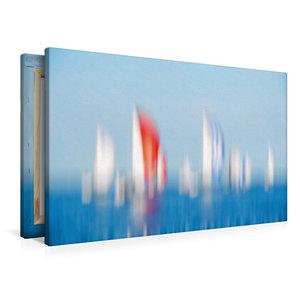 Premium Textil-Leinwand 90 cm x 60 cm quer Spinnakerfeld