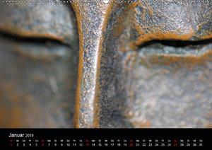 Buddha Die Schönheit liegt im Auge des Betrachters (Wandkalender